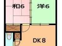 アパートマンション 1階 間取り図